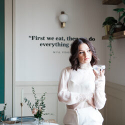 Fashion led bridal inspiration from Stoke Newington, with Amanda Karen Photography