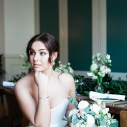 Lovers of London – modern bridal chic with images by Amanda Karen Photography