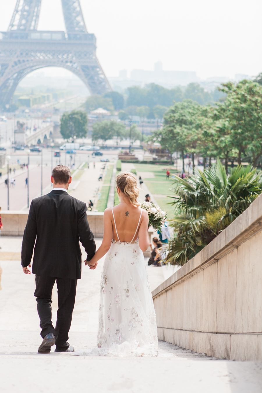 Paris destination wedding photography inspiration by Amanda Karen Photography