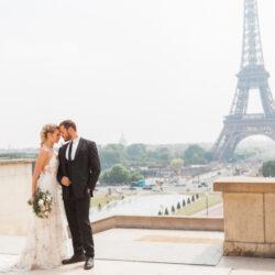 A dreamy Paris elopement shoot, with Amanda Karen Photography