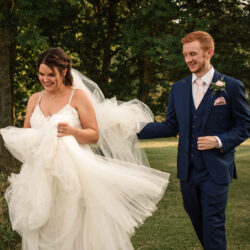 Sophie & Gary's natural, floral and rustic Granary Estates wedding, with Becky Harley Photography