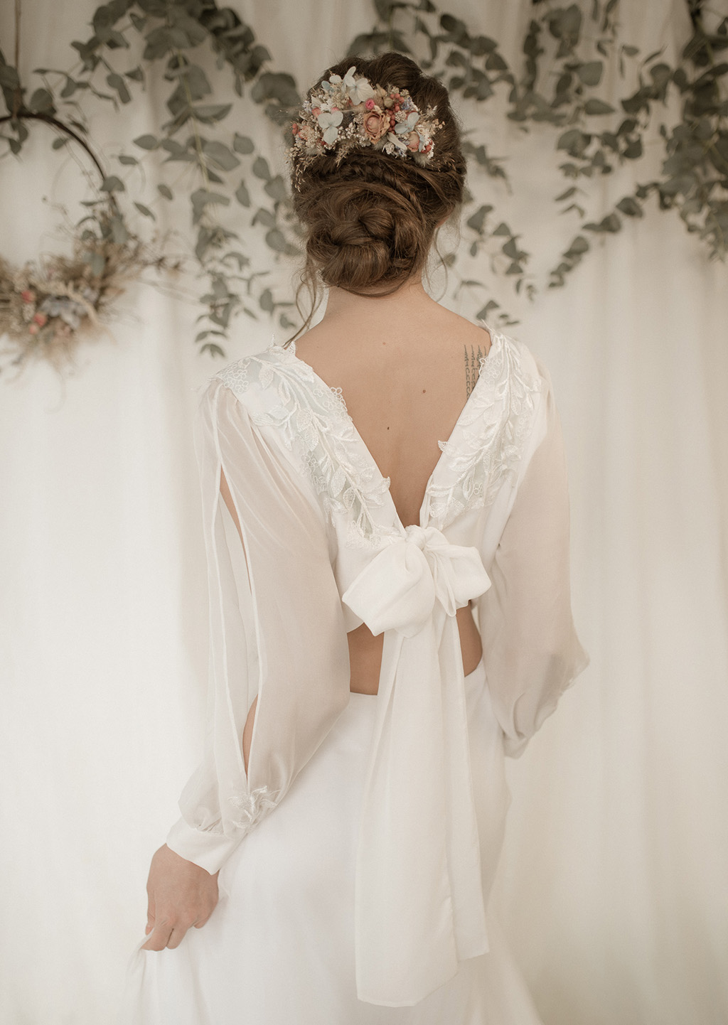 Slow bridal fashion by Jessica Turner Designs