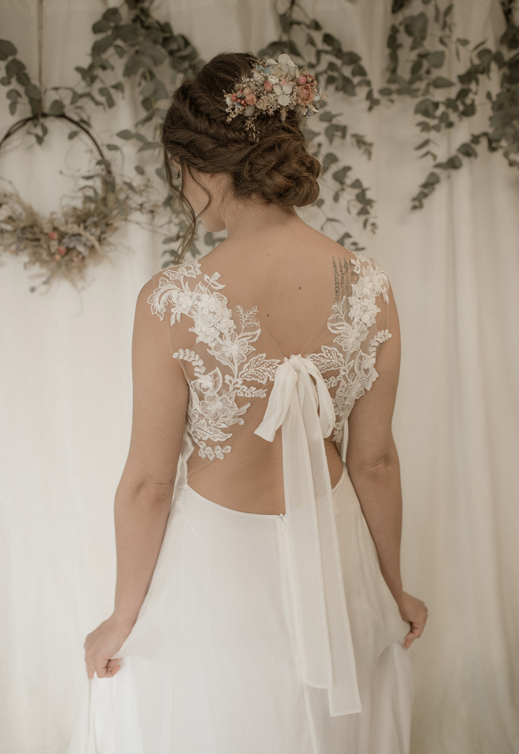 Where the Wild Things Grow 2022 bridal collection by ethical UK wedding dress designer Jessica Turner