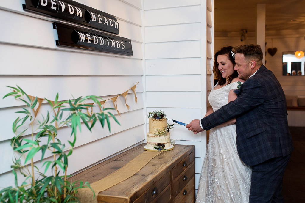 real wedding at Tunnels Beaches by Martin Dabek Photography Devon in 2020