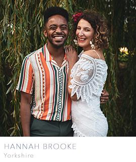 Yorkshire wedding photographer Hannah Brooke Photography