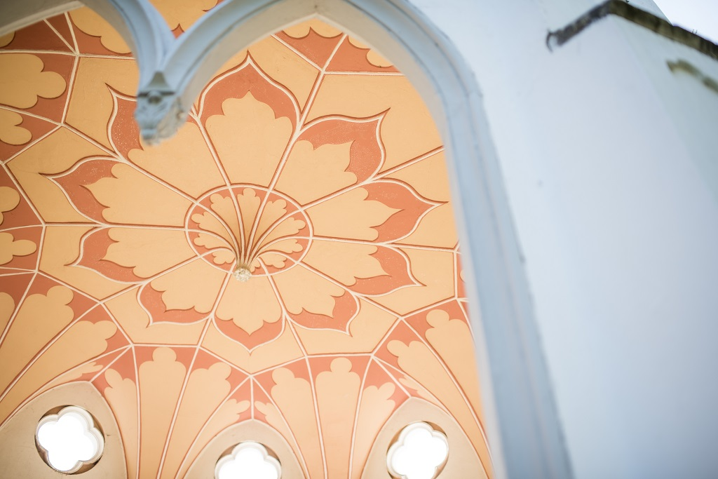 Gothic Temple Roof captured by Jane Beadnell Photography