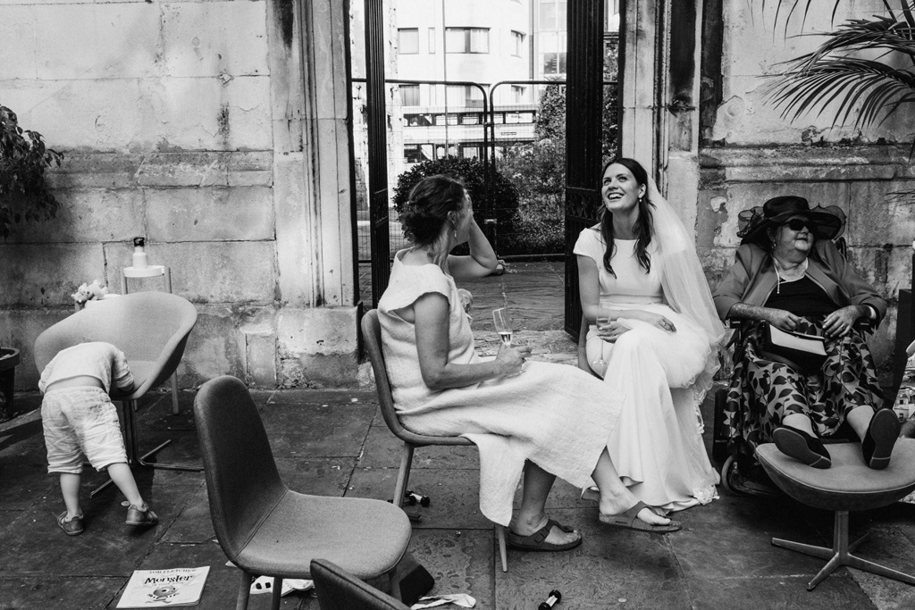 Greyfriars Passage London wedding photography by York Place Studios