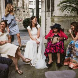 Natasha & Greg's little London wedding with a BIG heart