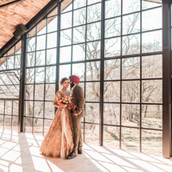 Riverside elopement inspiration at Hidden River Barn, with P Kay Photography