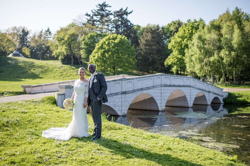 Real Wedding at Painshill captured by Jane Beadnell Photography