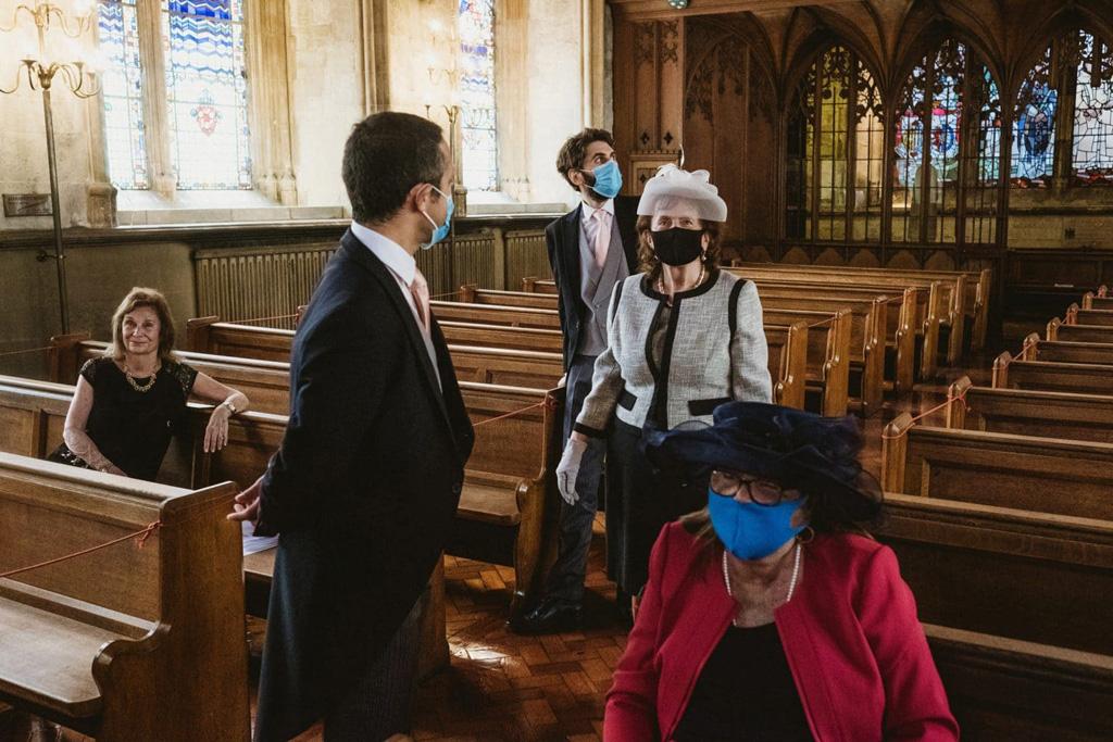 St Etheldredas RC church wedding photographers York Place Studios London