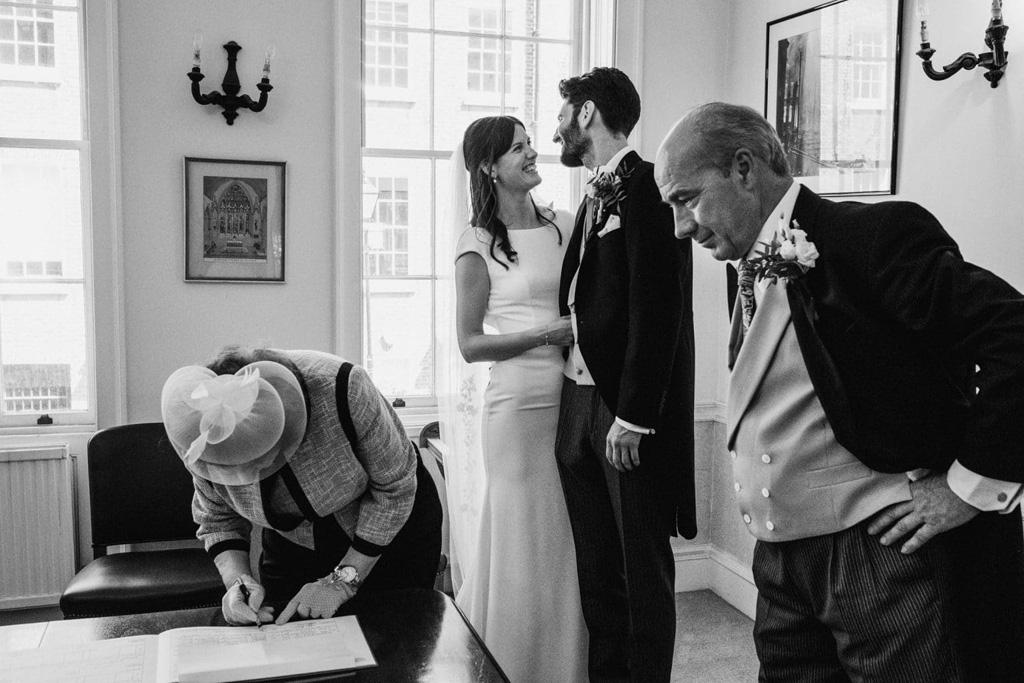 Holborn London wedding photography by York Place Studios