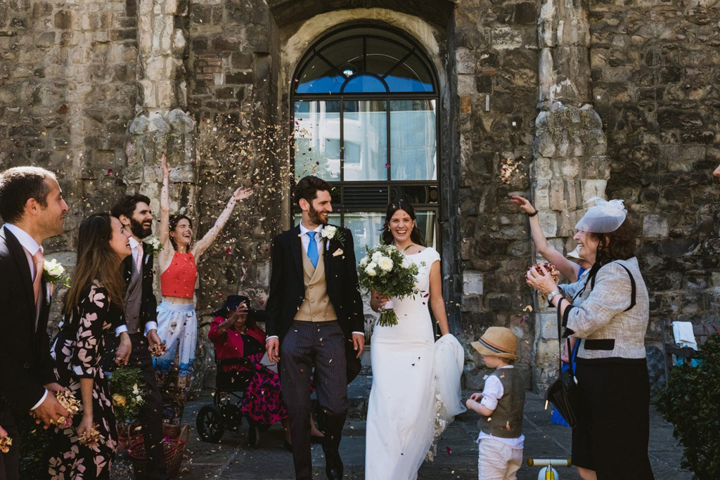 London documentary wedding photography York Place Studios