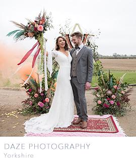 Daze Photography Yorkshire boho wedding photographers