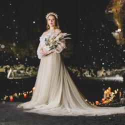 Magical candlelit cave wedding inspiration