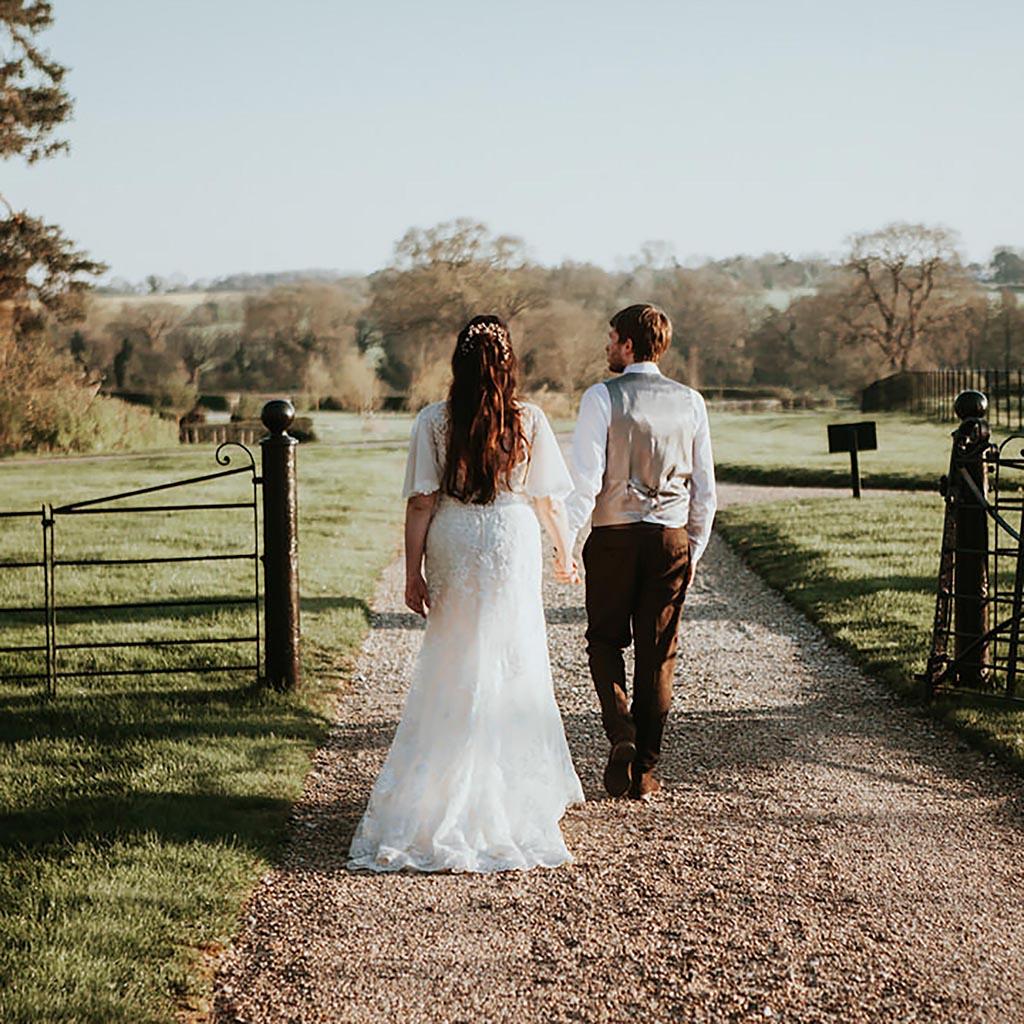 Real wedding at Bruisyard Hall Suffolk, captured by Beth Beresford Photography