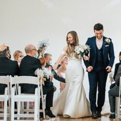 Daniel & Fallon's elegant and timeless barn wedding at Shilstone House, with Younger Photography