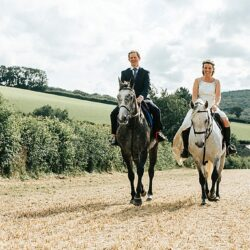 Chris & Becky's black tie wedding at Rockbeare Manor, with Younger Photography