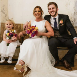 Matt & Kate's exceptionally child friendly wedding at Holmes Mill, with York Place Studios