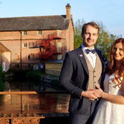 Jess & Joe's elegant rustic Sopley Mill wedding, with Libra Photographic