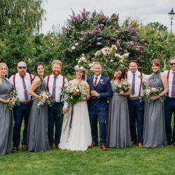 Phil & Alicia's wonderful wedding at Skipbridge, with John Hope Photography